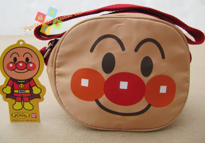 冲冠【面包超人】 炫酷儿童双肩背包/幼儿卡通包 b款 红色